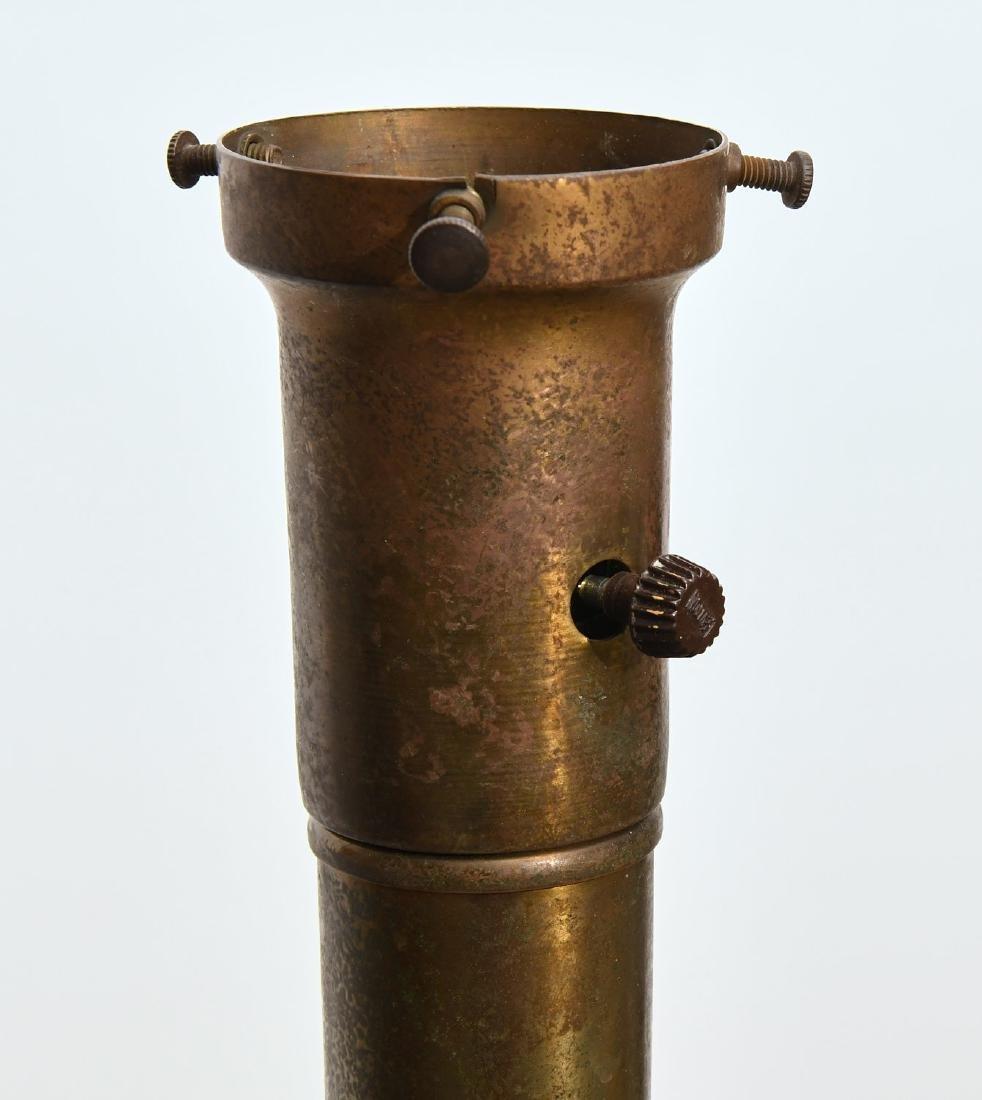 (2) Mid-century teak and metal floor lamps - 5