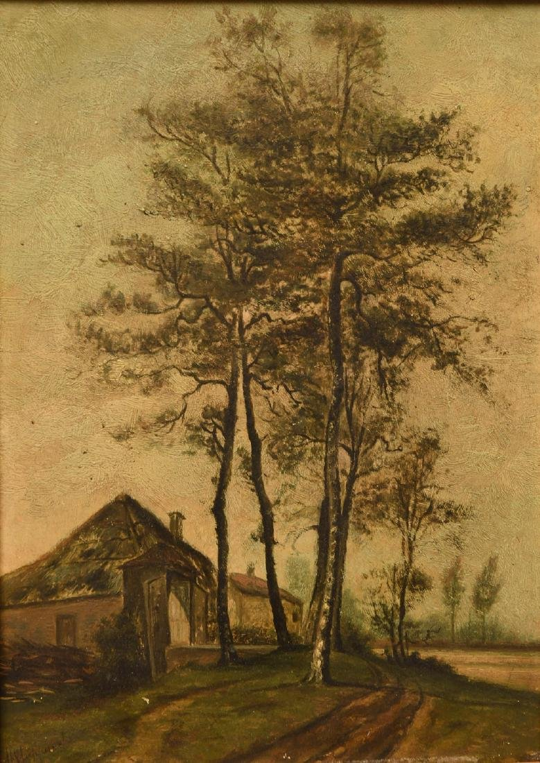 Continental School, painting - 2