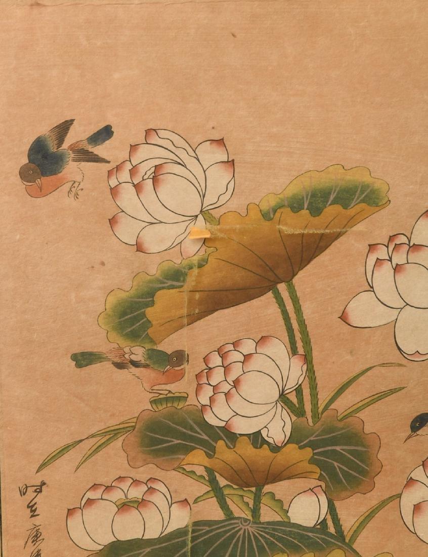 Japanese School, woodblock print - 2