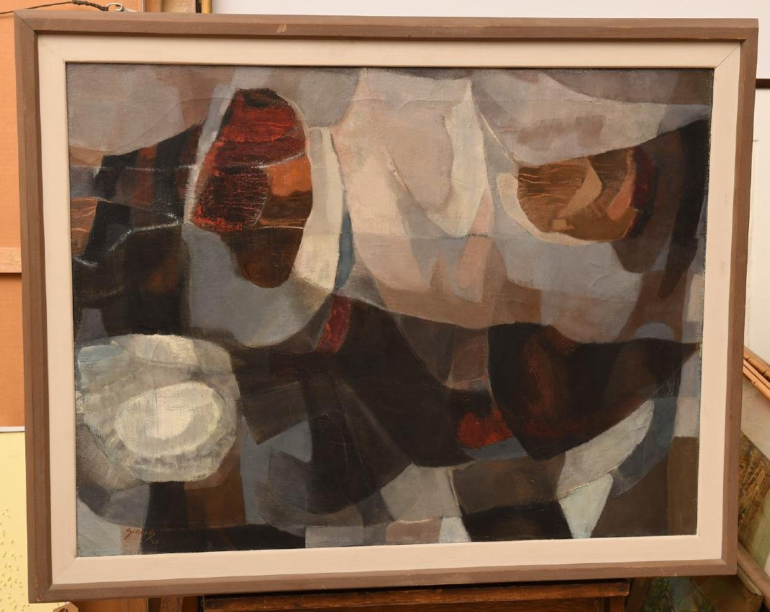 Edith Simonds, painting