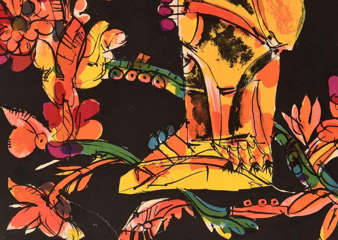 Norman Laliberte, lithograph - 5