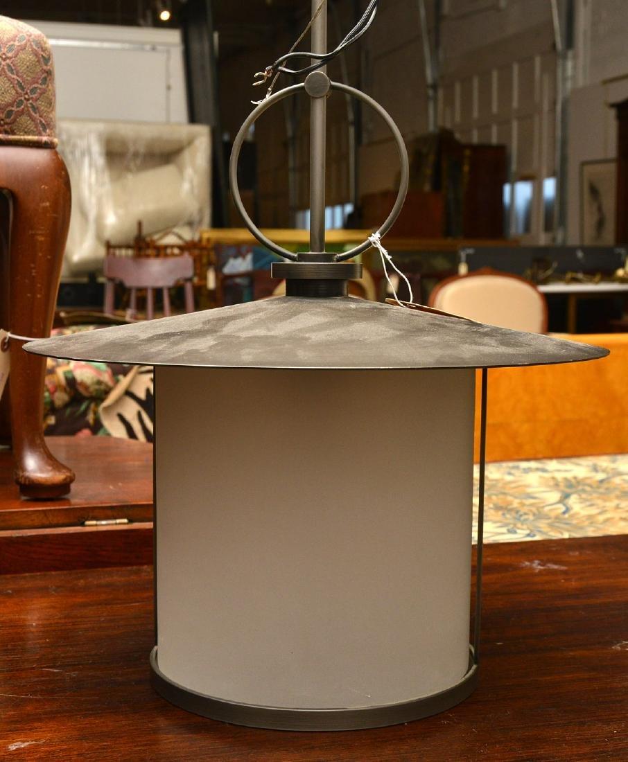 Modernist lantern light fixture - 2