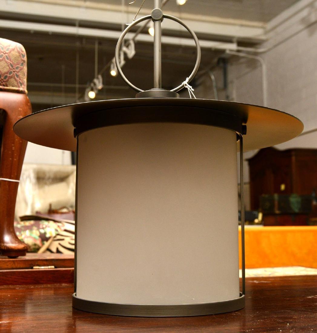 Modernist lantern light fixture - 3