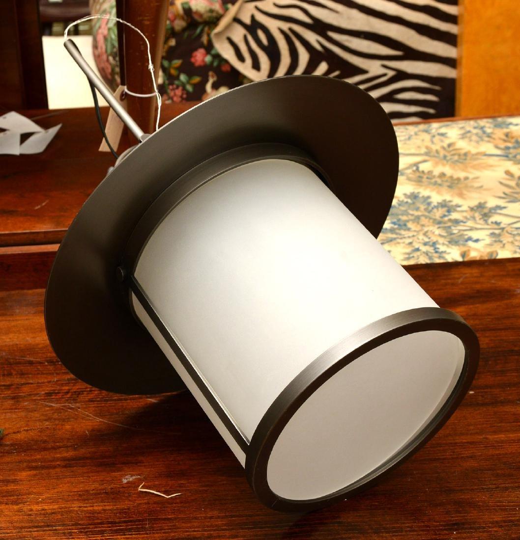 Modernist lantern light fixture - 5