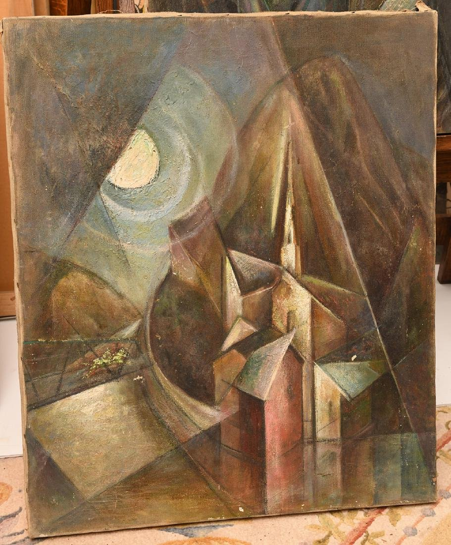 Manner of Georges Braque, (2) paintings - 2