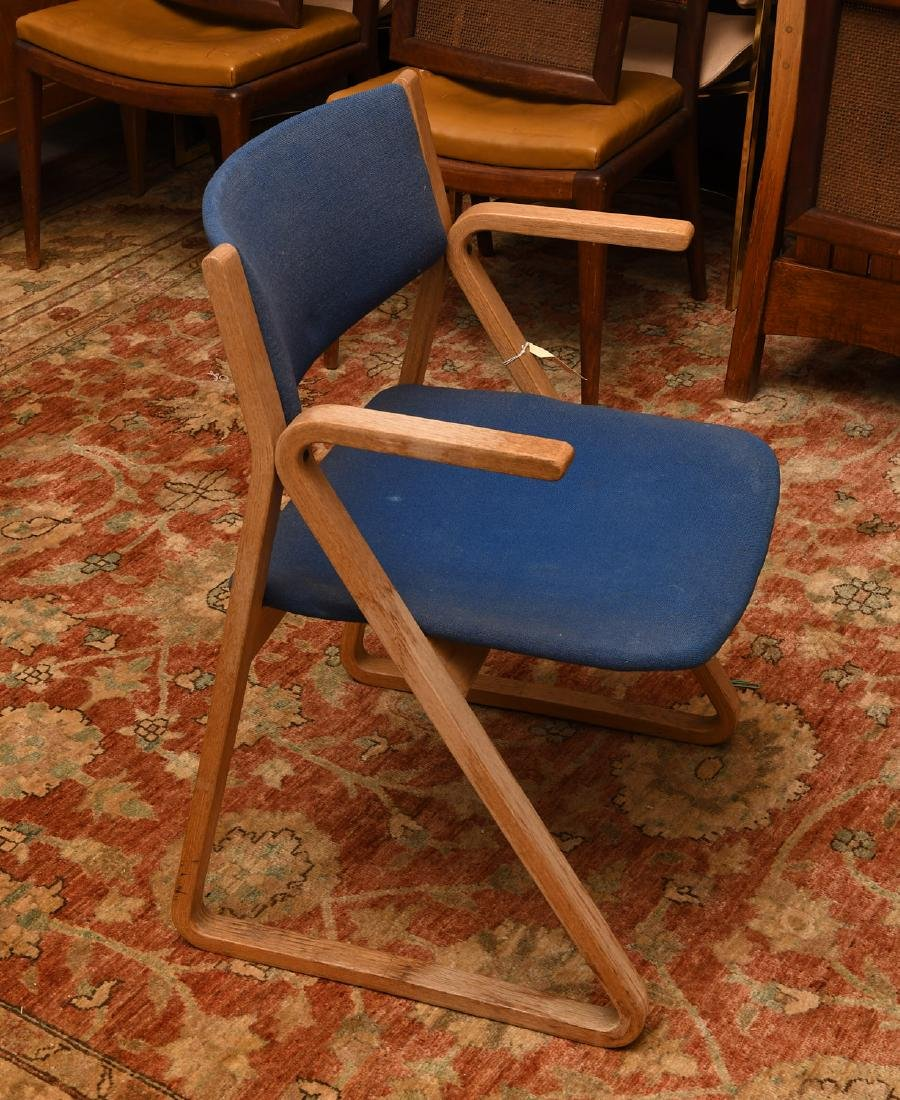 Pair Stow & Davis triangle chairs - 2