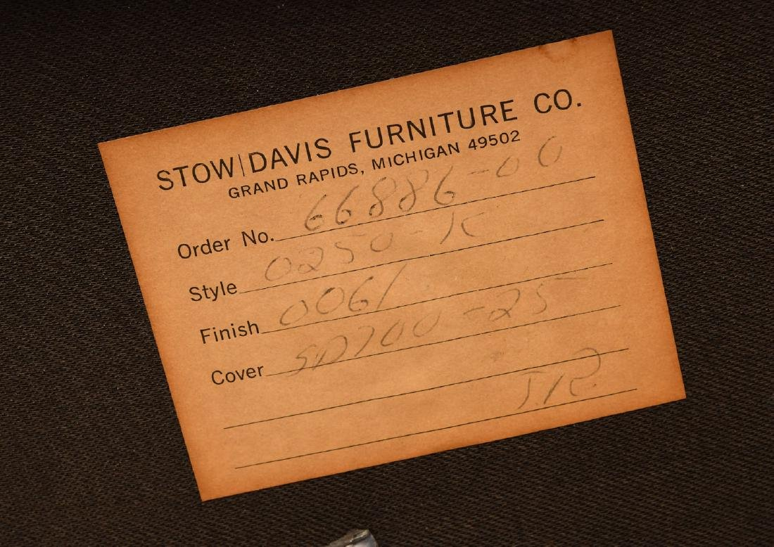Pair Stow & Davis triangle chairs - 6