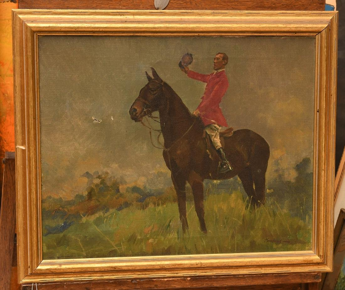 Arminell Morshead, equestrian painting