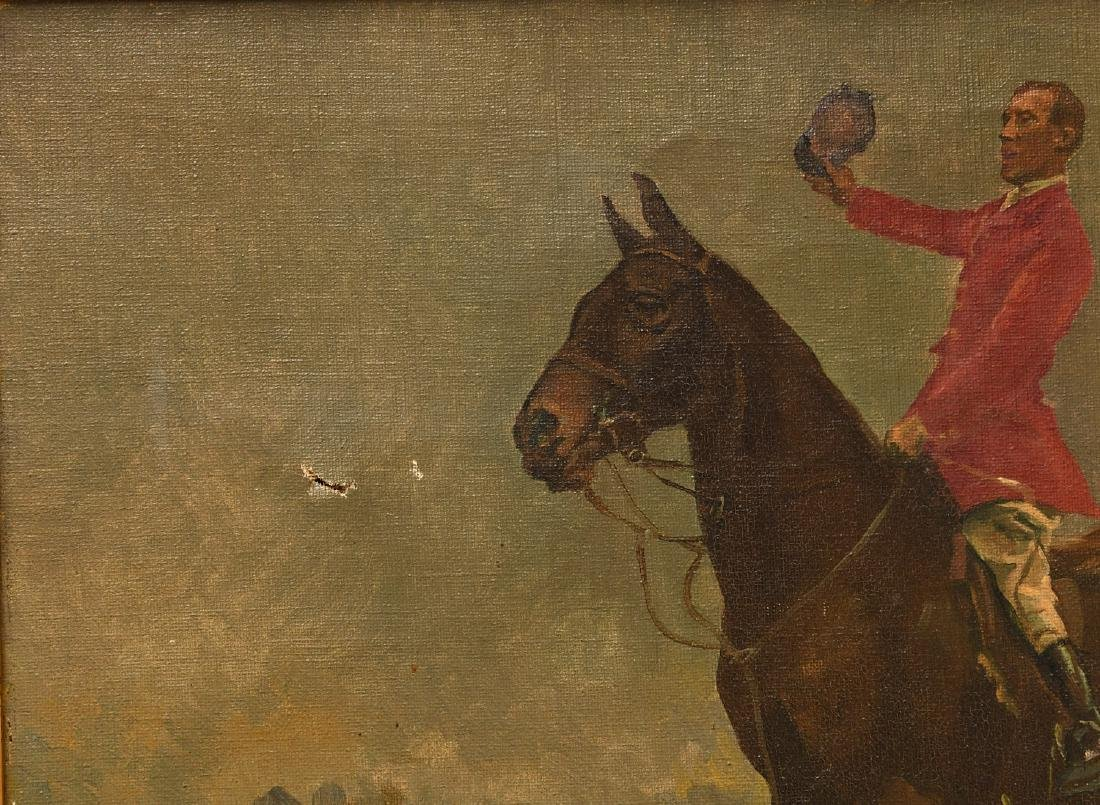 Arminell Morshead, equestrian painting - 2