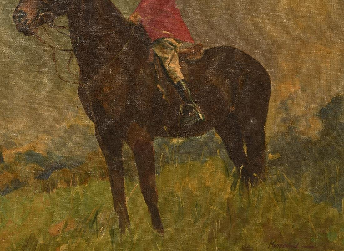 Arminell Morshead, equestrian painting - 3