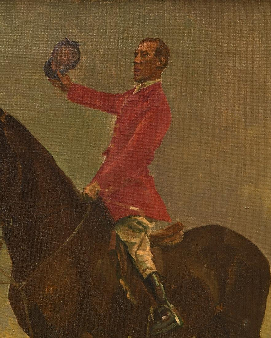 Arminell Morshead, equestrian painting - 5