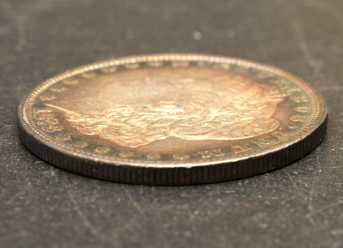 (3) 1878 Morgan silver dollars - 6