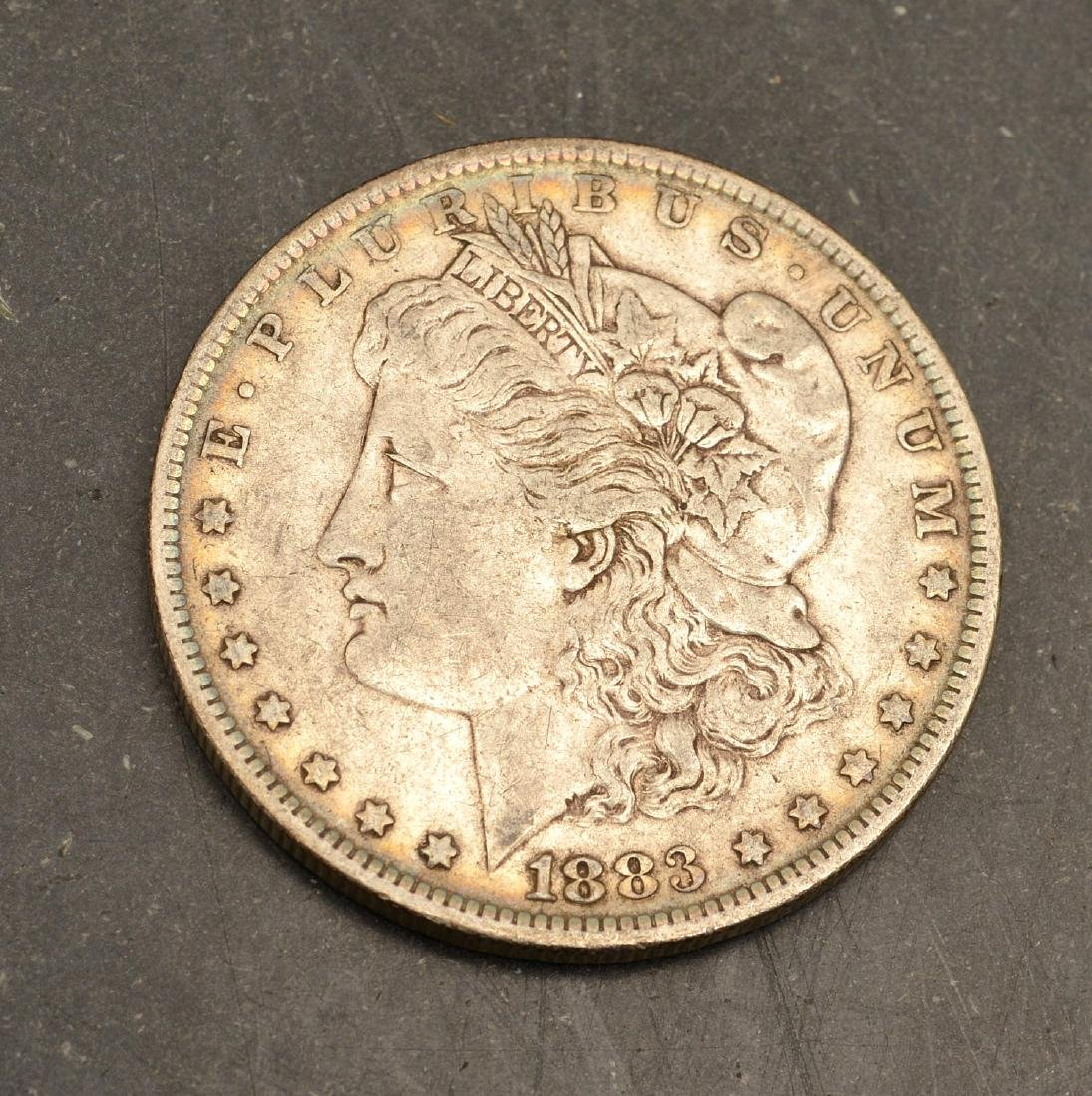 (6) 1882 & 1883 Morgan silver dollars - 2