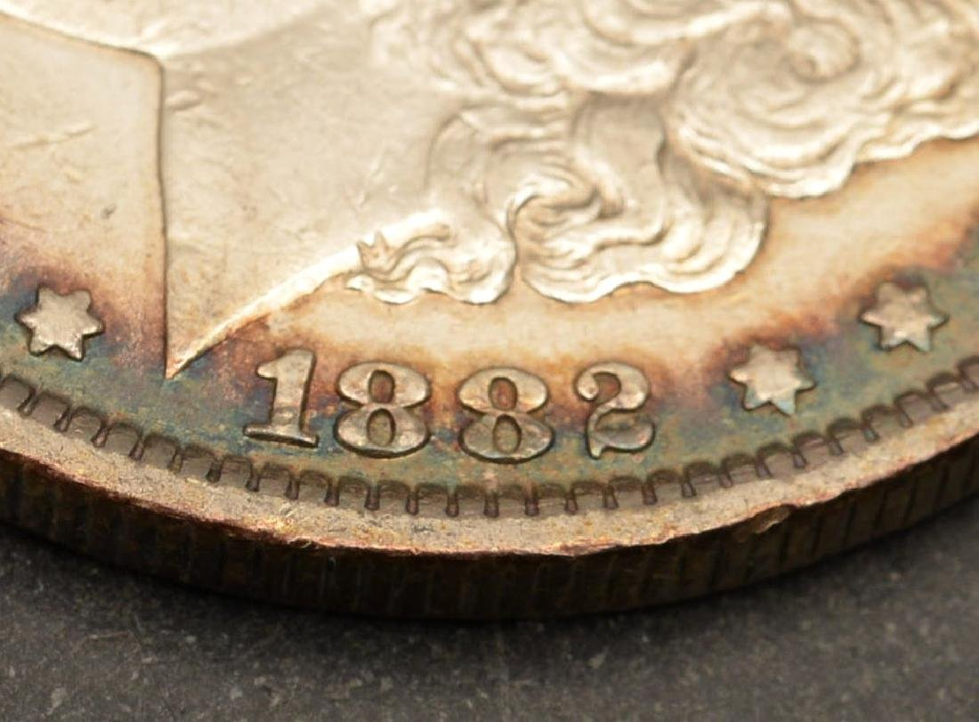 (6) 1882 & 1883 Morgan silver dollars - 3