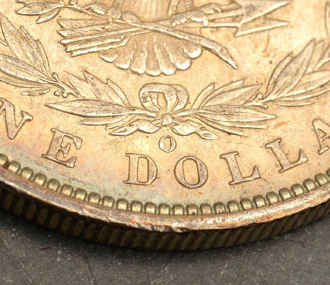 (5) 1887 & 1888 Morgan silver dollars - 5