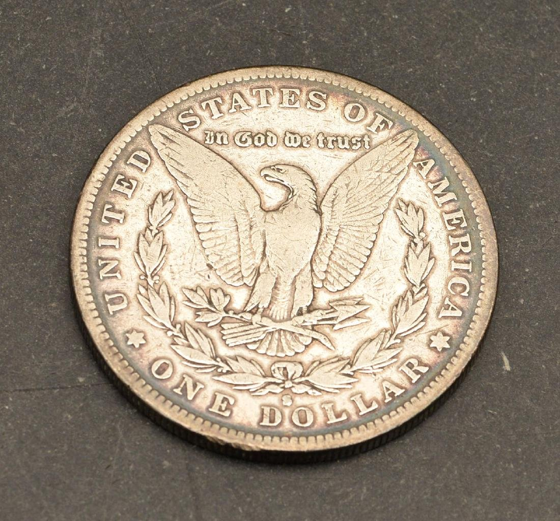 (3) 1889 Morgan silver dollars - 3