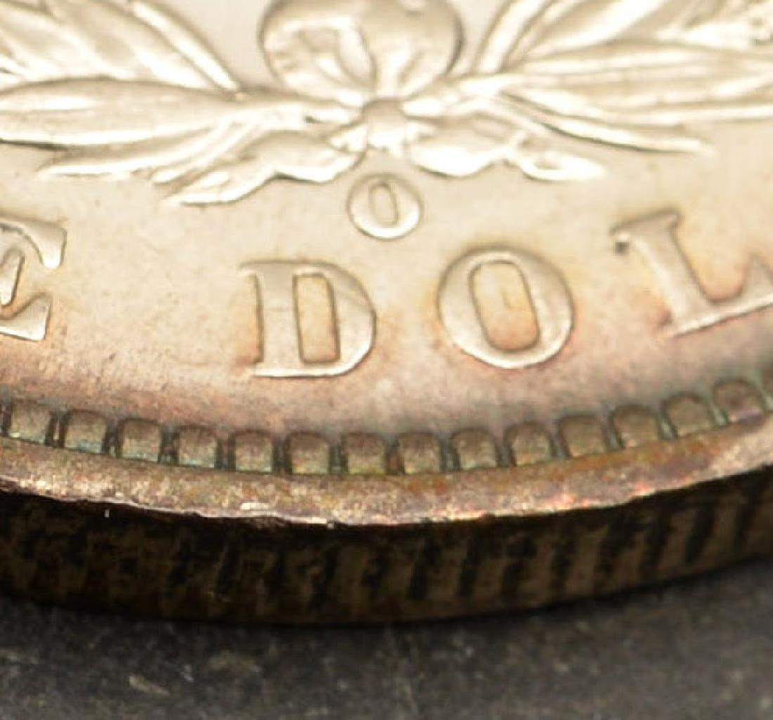 (4) 1890 Morgan silver dollars - 5