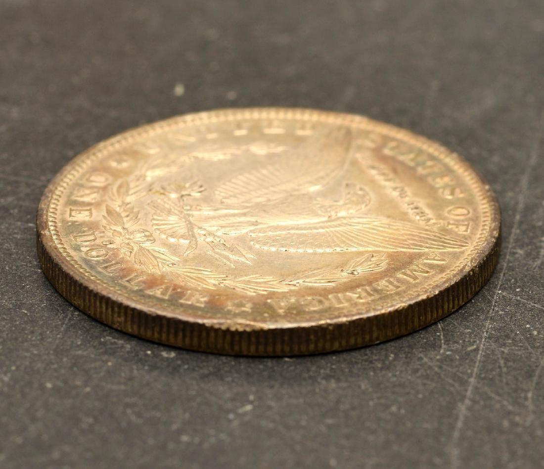 (4) 1890 Morgan silver dollars - 7