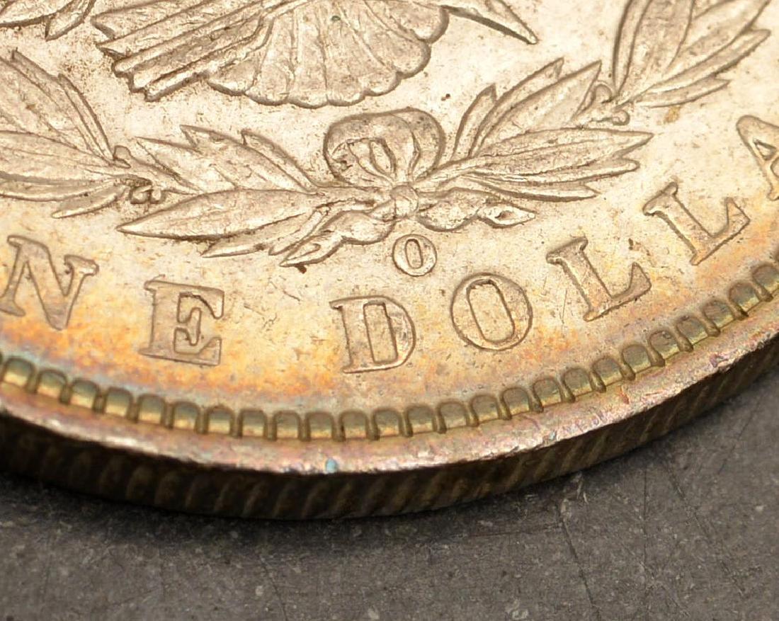(4) 1891 Morgan silver dollars - 5