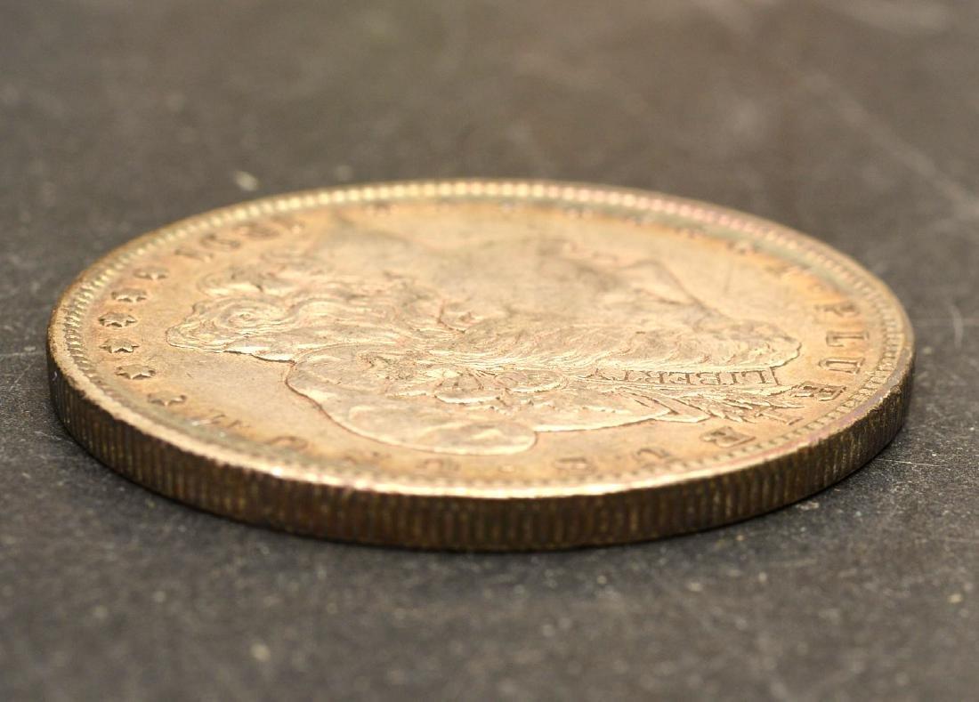 (4) 1891 Morgan silver dollars - 7