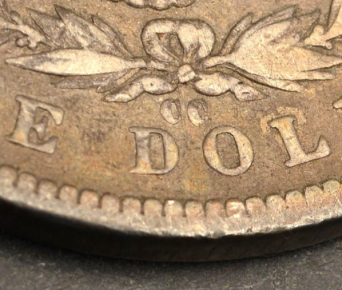 (6) 1892 & 1893 Morgan silver dollars - 8