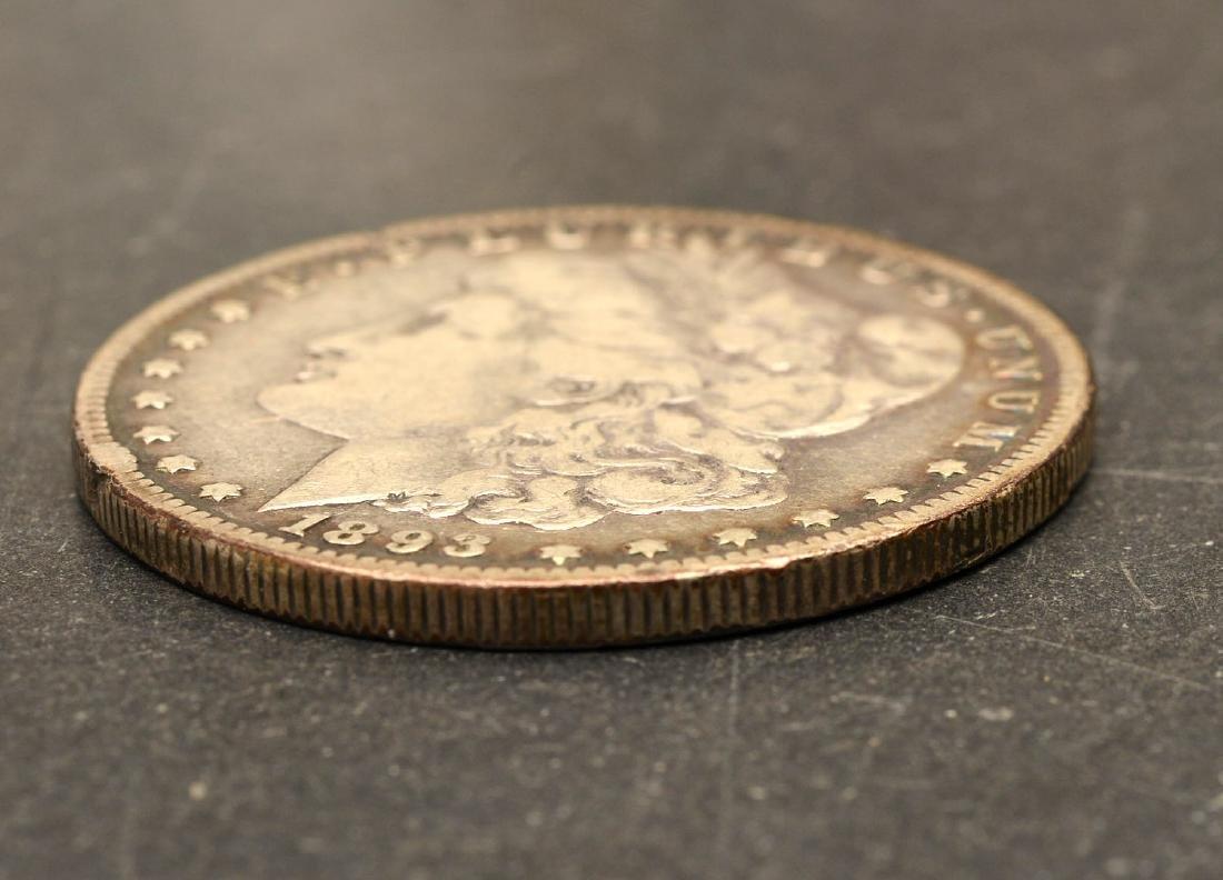 (6) 1892 & 1893 Morgan silver dollars - 9