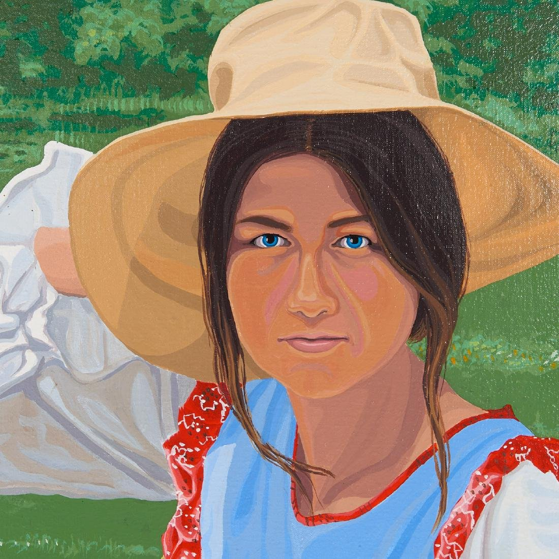 H. Lee Hirsche, painting - 5