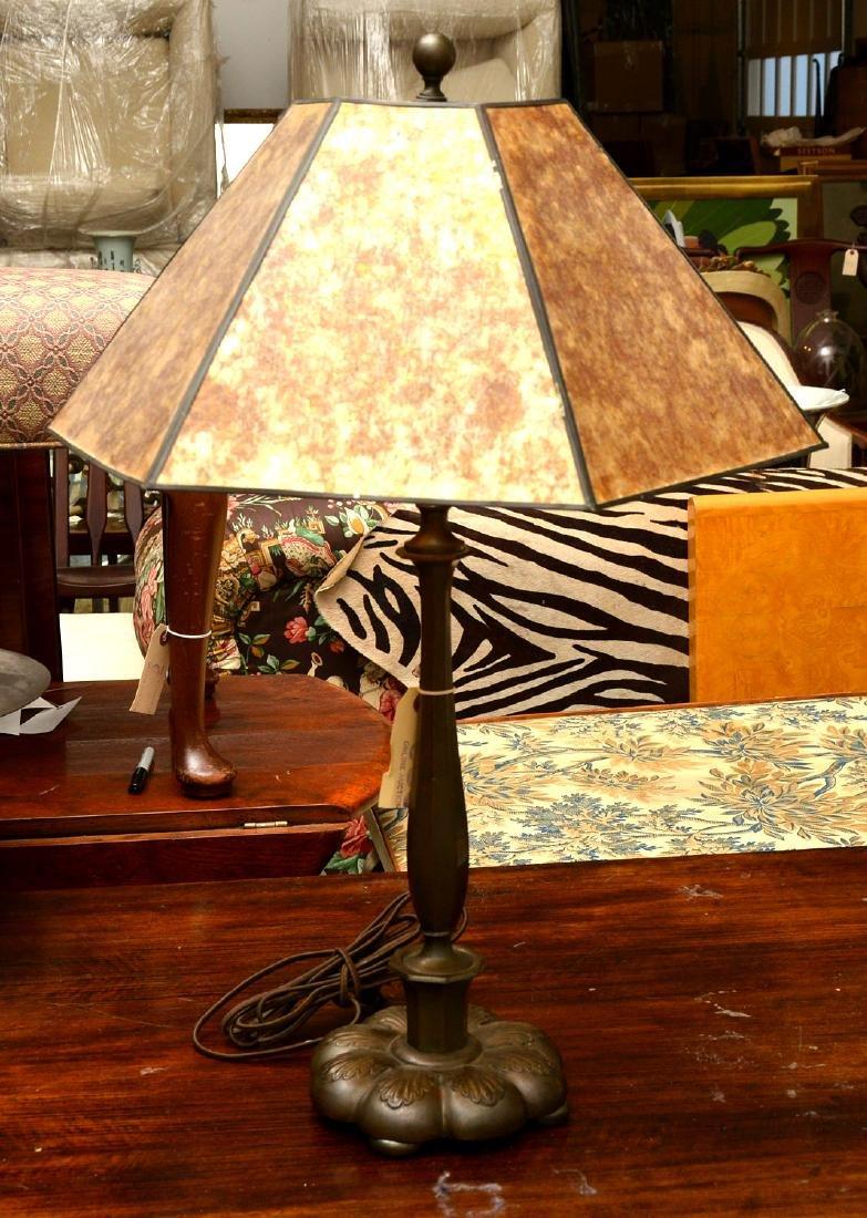 Attrib. to Just Andersen, bronze table lamp