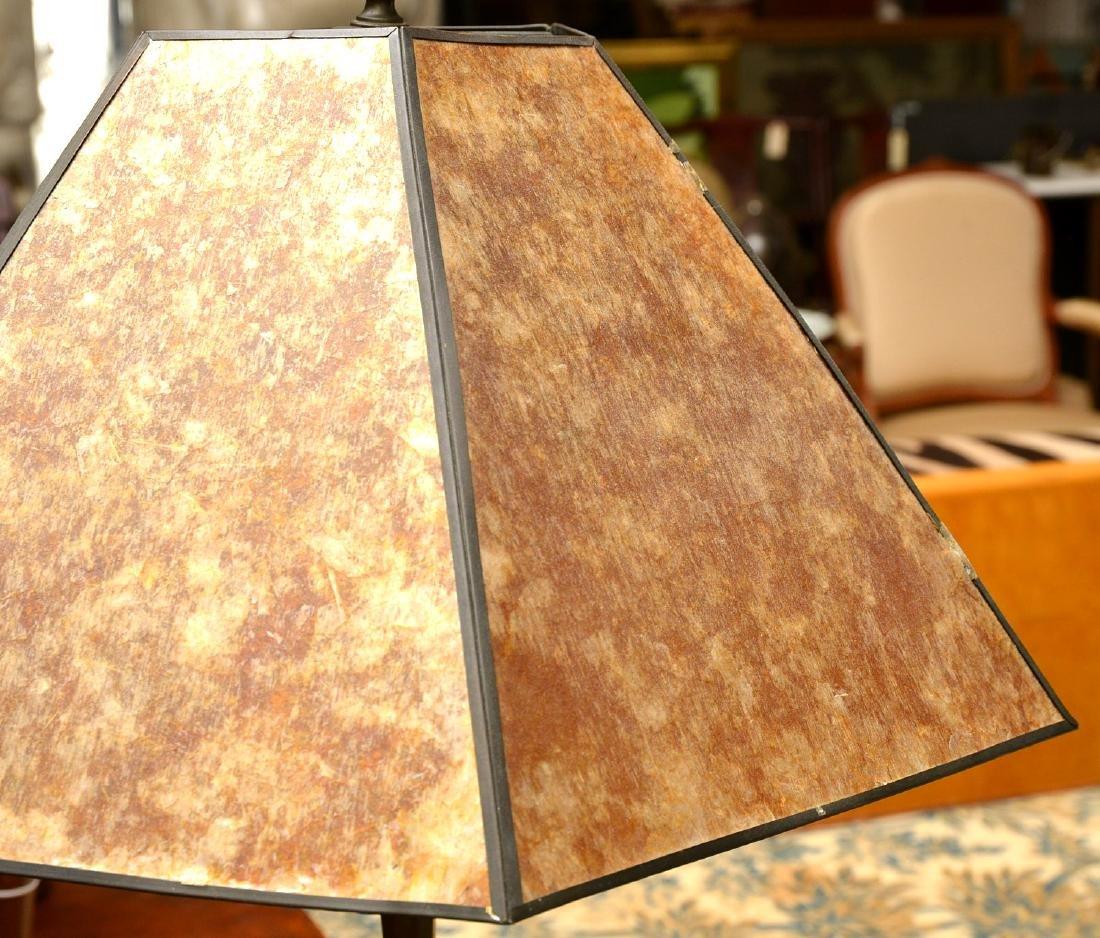 Attrib. to Just Andersen, bronze table lamp - 3