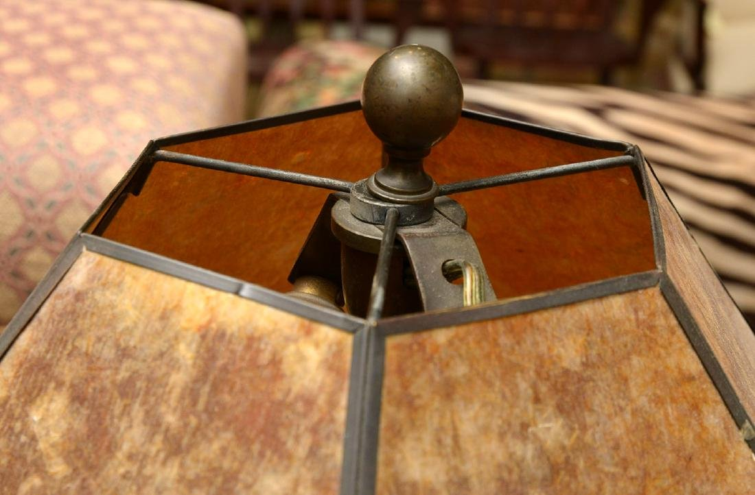 Attrib. to Just Andersen, bronze table lamp - 4