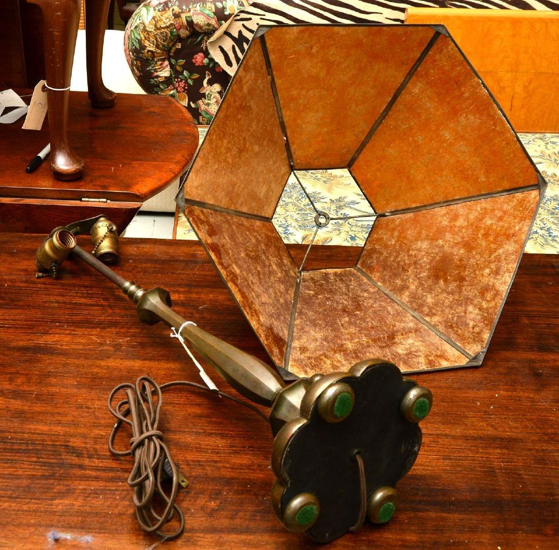 Attrib. to Just Andersen, bronze table lamp - 5