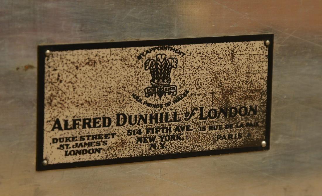 Alfred Dunhill burlwood cigar humidor - 9