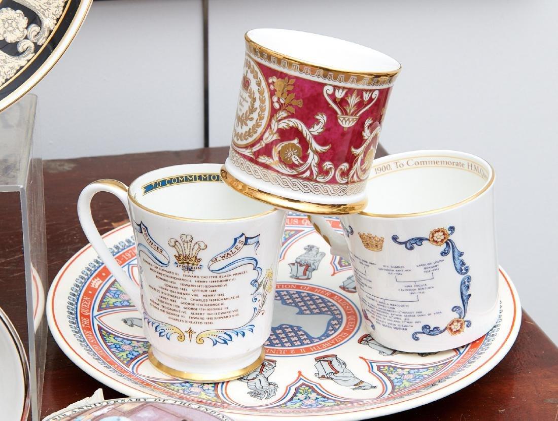 (40+) English Royalty commemorative porcelains - 2