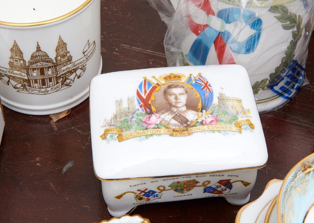 (40+) English Royalty commemorative porcelains - 5