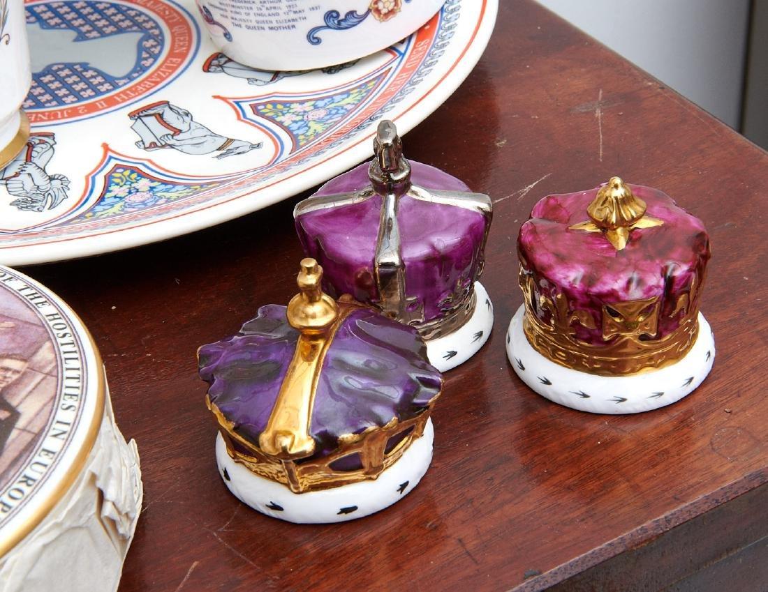 (40+) English Royalty commemorative porcelains - 8