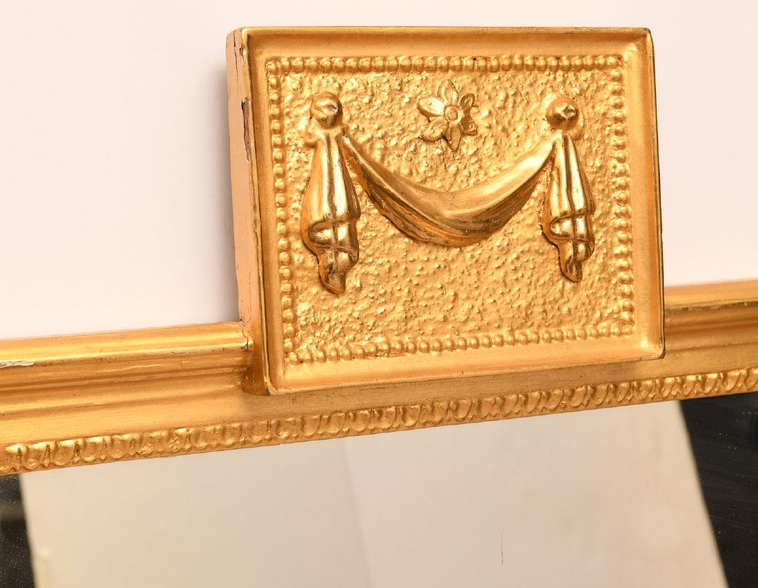 Neo-Classical style giltwood wall mirror - 2