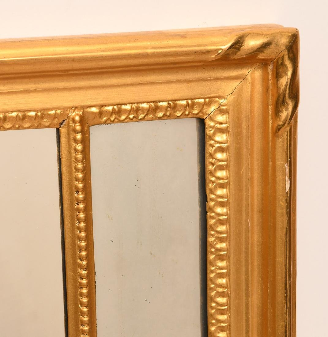 Neo-Classical style giltwood wall mirror - 3
