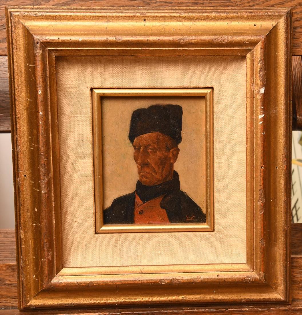 Willem Van Den Berg, portrait painting