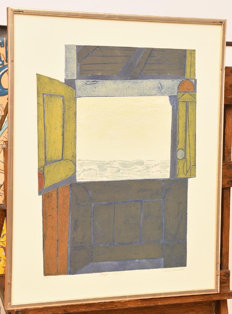 Clare Romano, lithograph