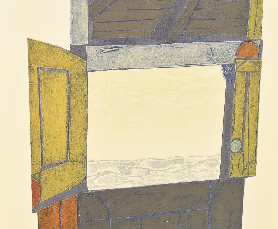 Clare Romano, lithograph - 2
