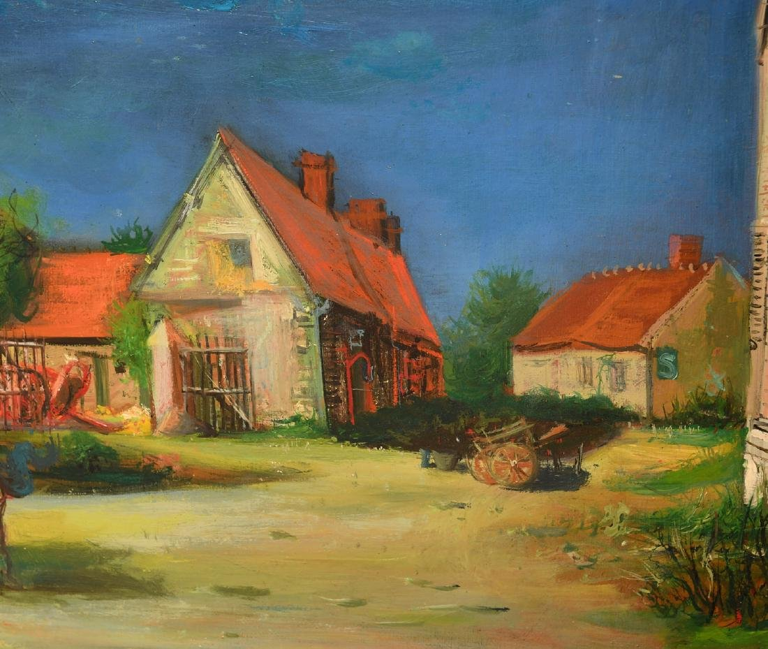 Jean Carzou, painting - 3