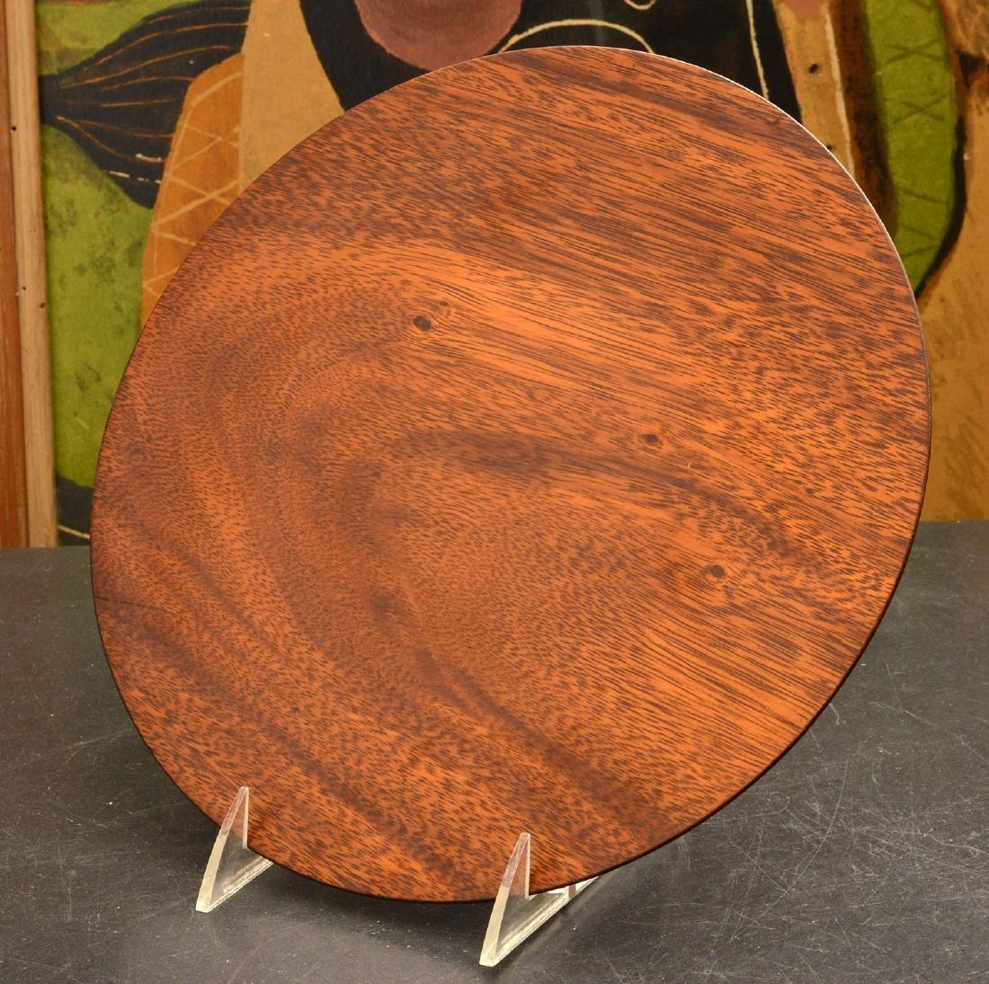 Bob Stocksdale, turned wood plate