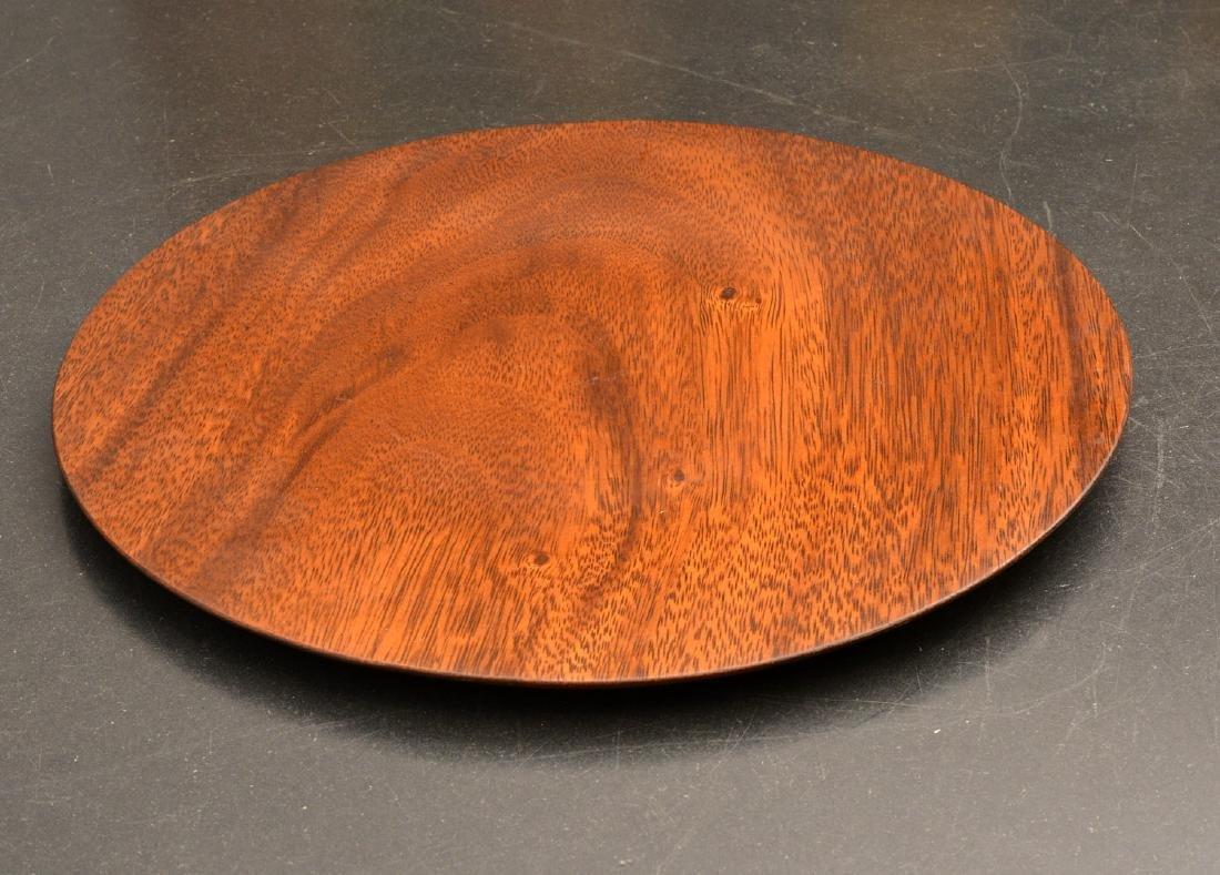 Bob Stocksdale, turned wood plate - 2