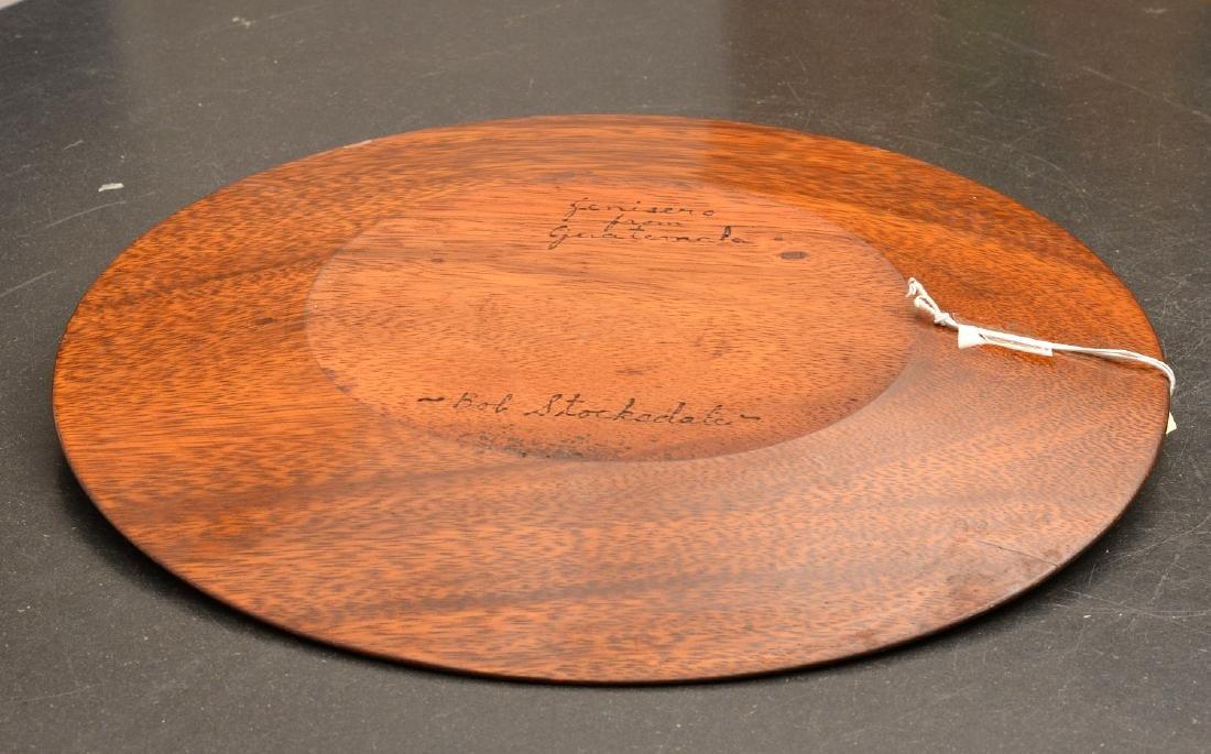 Bob Stocksdale, turned wood plate - 4