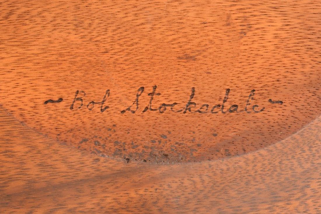 Bob Stocksdale, turned wood plate - 5