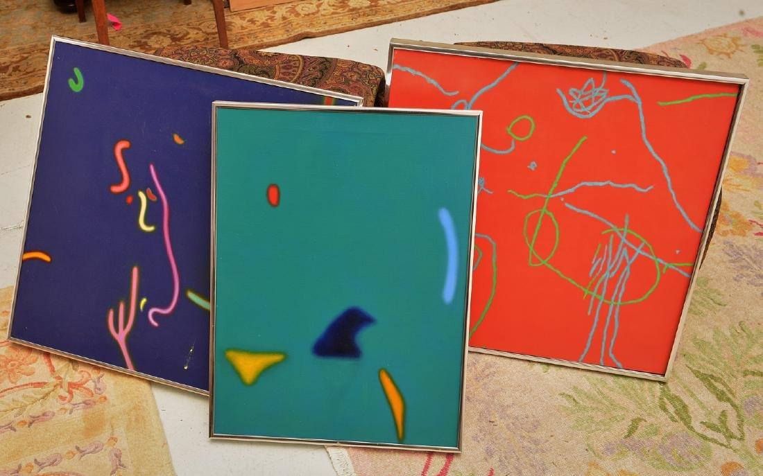 Nichols, (3) paintings