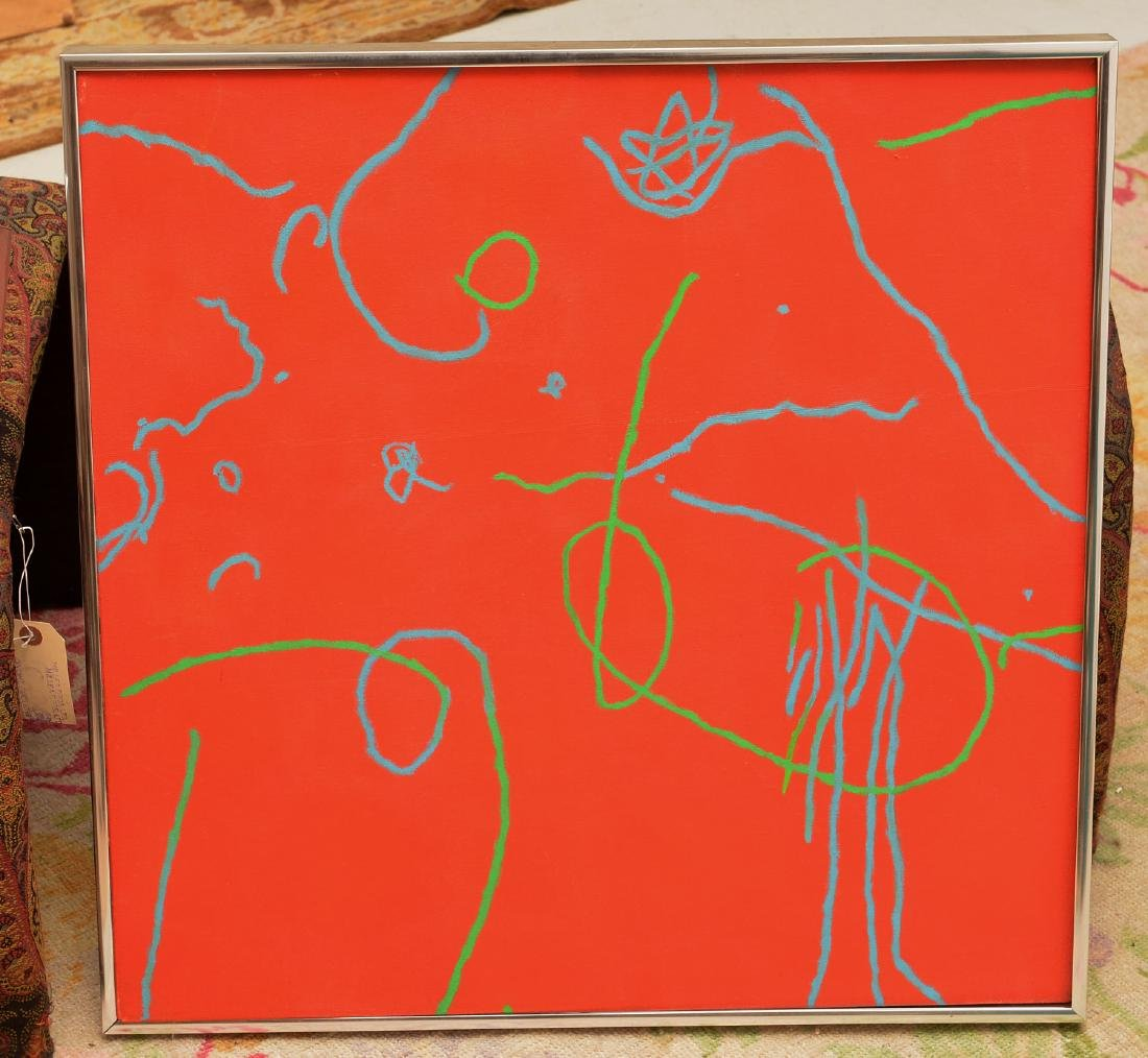 Nichols, (3) paintings - 2