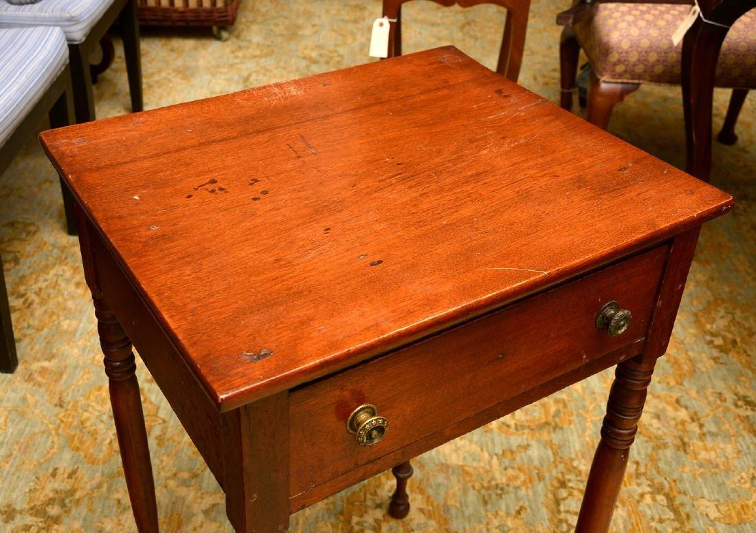 American mahogany stand - 2