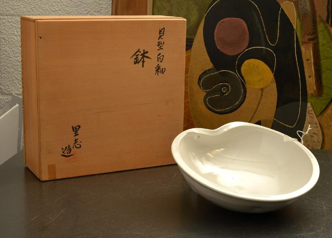 Kumamoto Kiichi, studio ceramic bowl