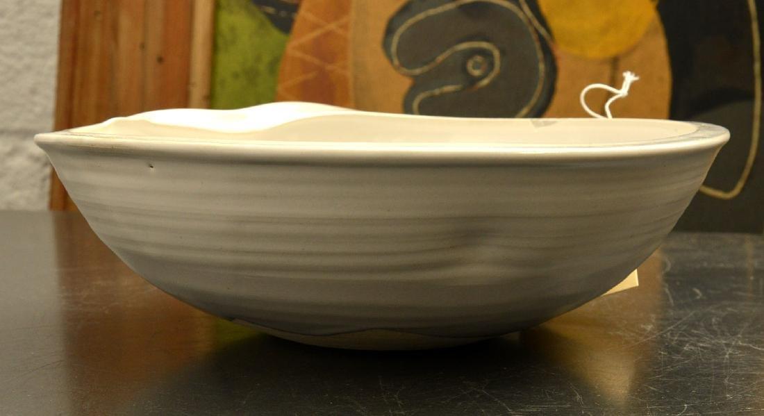 Kumamoto Kiichi, studio ceramic bowl - 2